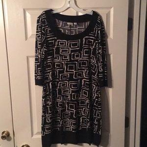 Abstract Blocks Dress